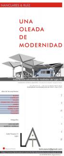 Cartel de la exposción UNA OLEADA DE MODERNIDAD