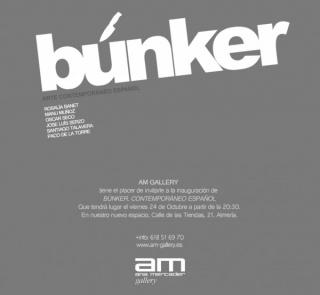 Búnker. Arte contemporáneo español