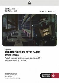 Andrea Canepa, Arquitectures del futur passat