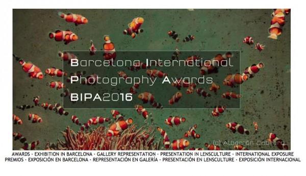 Barcelona International Photography Awards. BIPA 2016