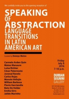 Speaking of Abstraction. Language Transitions in Latin American Art (2016)