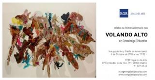 Invitación Aniversario + Exposición Volando Alto