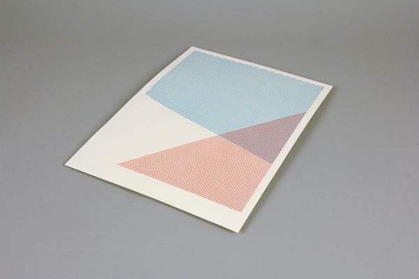 Christian Schmitz - \'Layers of Error\' 2016 (30 x 41,5 cm) Serigrafi?a sobre papel