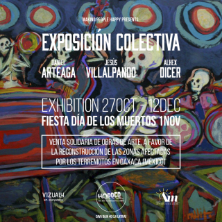 Vizualy - Arte X Oaxaca, Hopper Madrid