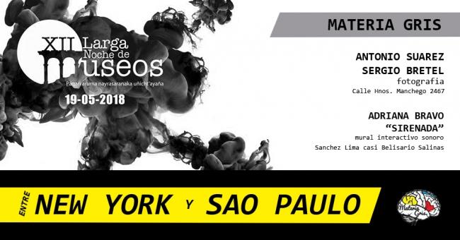 Entre New York y Sao Paulo