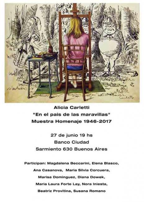 En el país de las maravillas. Muestra Homenaje 1946- 2017