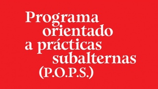 Programa Orientado a las Prácticas Subalternas (P.O.P.S.)
