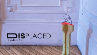Displaced. II edición - Detalle de la obra B-ring the Javier Montoro en Displaced 2018 — Cortesía de Boreal Projects