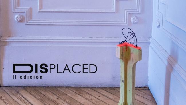 Displaced. II edición - Detalle de la obra B-ring the Javier Montoro en Displaced 2018 — Cortesía de Boreal Projects