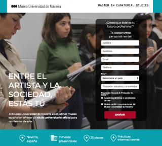 Master in curatorial studies / Máster en estudios de comisariado 2019/2020