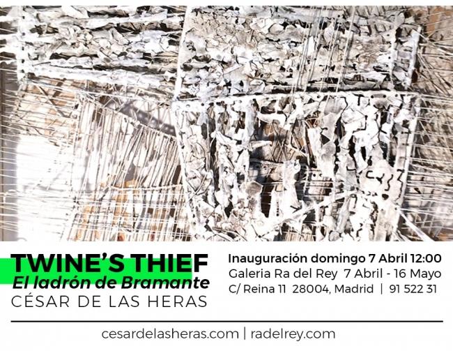 César de las Heras. Twine's thief (El ladrón de Bramante)