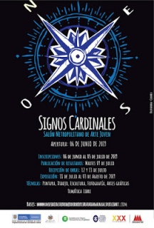 Signos cardinales – Salón Metropolitano de Arte Joven