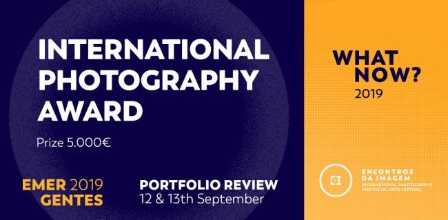 Emergentes 2019 - Prémio Internacional de Fotografia Encontros da Imagem