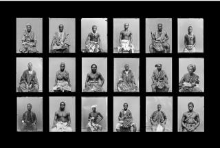Andrés Pachón, La Derrota del Rostro, Photographic print, 120 x 80 cm., 2018 — Cortesía del Centro Cultural La Nau