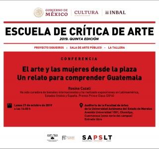 El arte y las mujeres desde la plaza. Un relato para comprender Guatemala