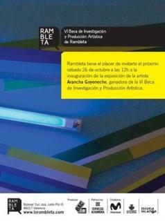 Oasis Y Desierto - Arancha Goyeneche (invitación)