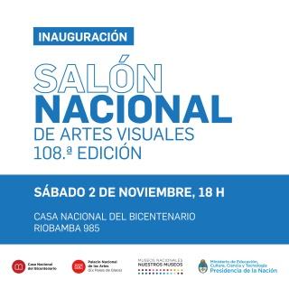 Salón Nacional de Artes Visuales 108ª edición