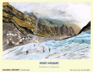 Xesús Vázquez. Proyectos y Avalancha