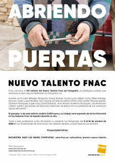 XIX Premio Nuevo Talento Fnac de Fotografía - 2020