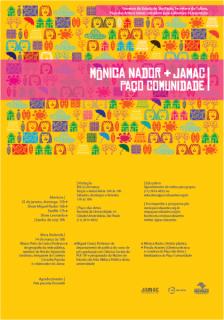 Mônica Nador + JAMAC + Paço Comunidade