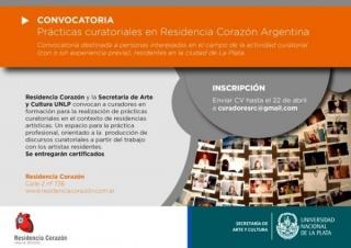 Prácticas curatoriales en Residencia Corazón Argentina