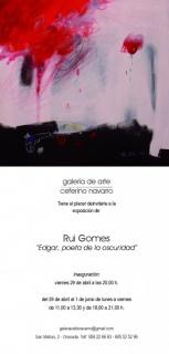 Rui Gomes. Edgar, poeta de la oscuridad