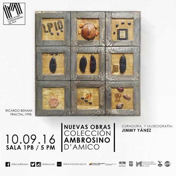 Nuevas obras Colección Ambrosino D´Amico