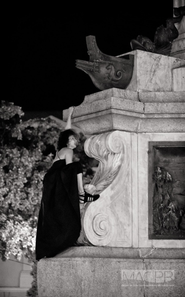 Teresa Hernández. Fotografía de Antonio Ramírez