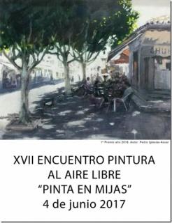 """XVII Encuentro de Pintura Rápida """"Pinta en Mijas"""""""