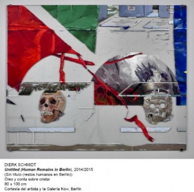 Dierk Schmidt, Untitled (Human Remains in Berlin), 2014/215 – Cortesía del artista y la galería Kow. Museo Nacional Centro de Arte Resina Sofía
