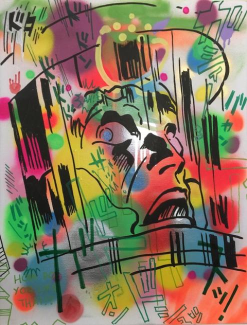 Judas Arrieta- Armstrongnaut — Cortesía de La Fiambrera Art Gallery