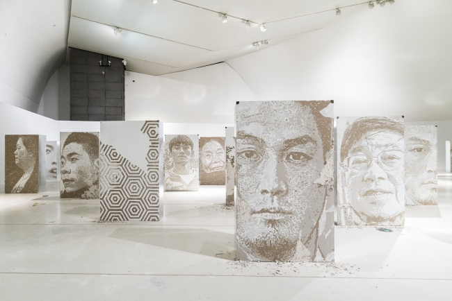 Residue Series, 2017   Imprint - Beijing   Installation view  Photo: José Pando Lucas