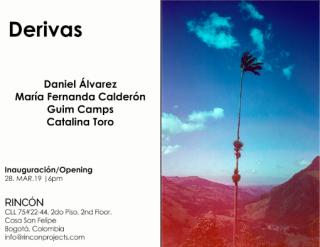 invitación Derivas