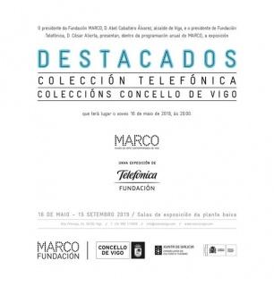 Destacados. Colección Telefónica + Destacados. Coleccións Concello de Vigo