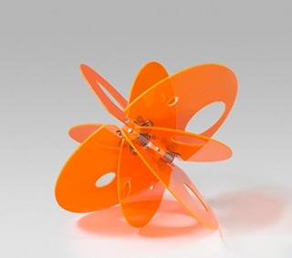 Naranja y vidrio