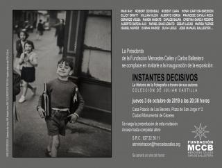 Instantes decisivos. La Historia de la Fotografía de través de sus autores. Colección de Julián Castilla