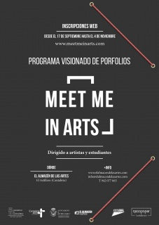 Programa de Visionado de Porfolios Meet Me in Arts