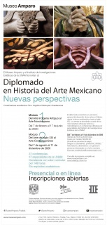 Diplomado en Historia del Arte Mexicano: Nuevas perspectivas