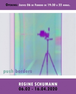 Regine Schumann. Push Borders