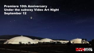 10th Anniversary of Under the subway Video Art Night