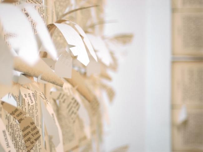 Simon Zabell.  Detalle de la instalación 'La Plantación'. Cortesía del artista y Square Art Projects