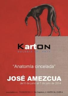 José Amezcua, Anatomía cincelada