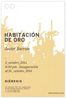 Javier Barrios, Habitación de oro