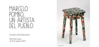 Marcelo Pombo, un artista del pueblo