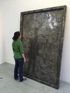 Alejandra Prieto, Espejo de pirita, 2015
