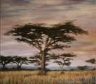 Africa, puesta de sol