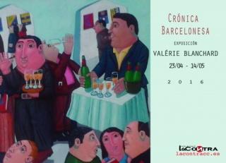 Valérie Blanchard, Crónica Barcelonesa