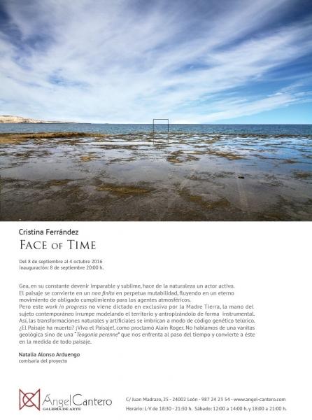 Tarjetón de Face of Time