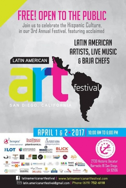 Latin American Art Festival - 2017