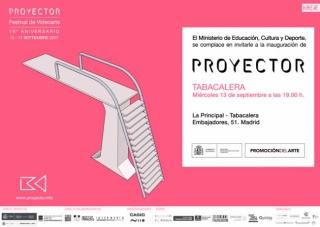 Proyector. Festival de videoarte